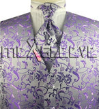 Purple Vest | Mens Vest | Mens Waiscoat | Boys Vest | Boys Waistcoat | Mens Wedding | Formal Vest | Formally Men | Brisbane