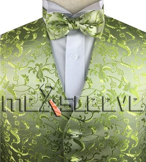 Green Vest | Mens Vest | Mens Waiscoat | Boys Vest | Boys Waistcoat | Mens Wedding | Formal Vest | Formally Men | Brisbane