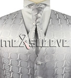 Silver Vest | Mens Vest | Mens Waiscoat | Boys Vest | Boys Waistcoat | Mens Wedding | Formal Vest | Formally Men | Brisbane