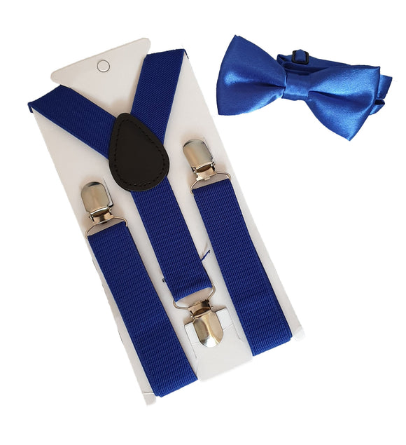 Boys Braces | Boys Suspenders | Boys Straps | Blue Braces | Royal Braces | Blue Suspenders | Royal Suspenders