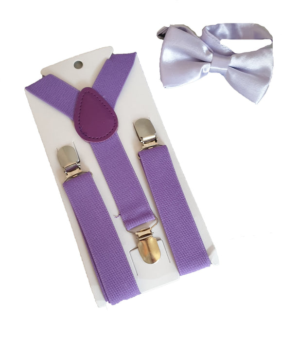 Boys Braces | Boys Suspenders | Boys Straps | Purple Braces | Lilac Braces | Purple Suspenders | Lilac Suspenders