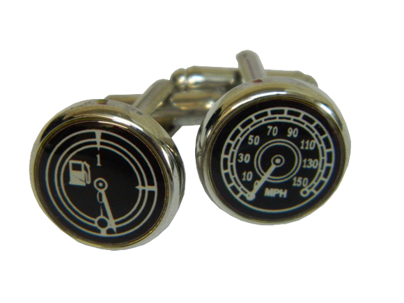 Black Cufflinks | Car Cufflinks | Transport Cufflinks | Cufflinks