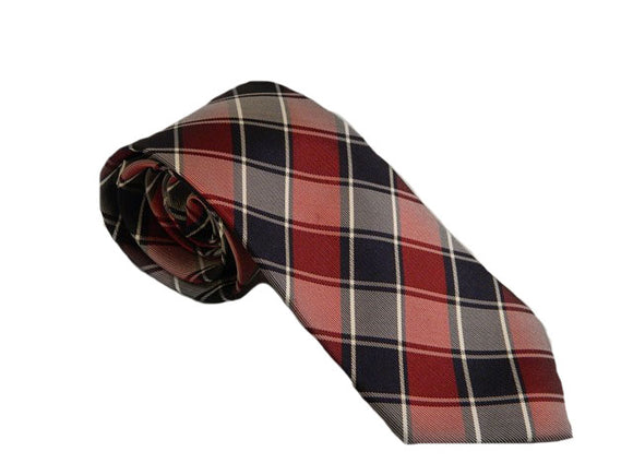 Red Check Tie Australia | Red Business Ties Australia | Red Suit Ties Australia