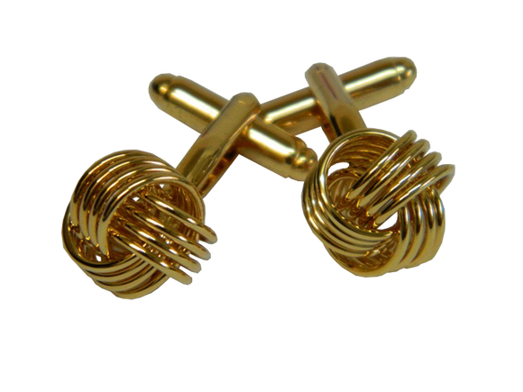 Gold Knot Cufflinks Australia | Gold Knot Cufflinks Brisbane | Gold Knot Cufflinks Melbourne
