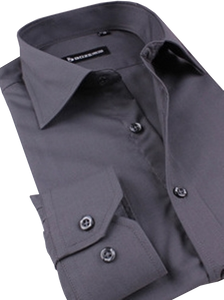 Charcoal Grey Long Sleeved Shirt Australia | Grey Shirt Australia