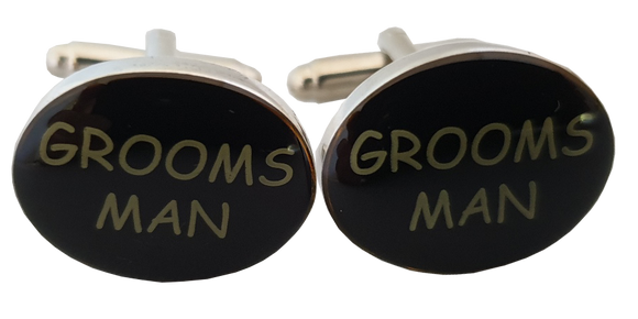Wedding Cufflinks | Groomsman Cufflinks