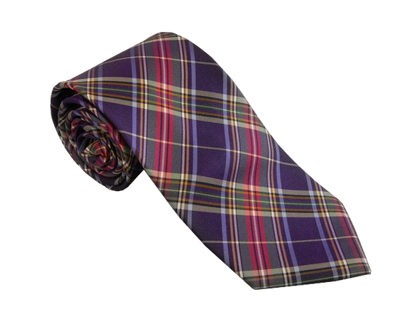 Purple Tartan Ties Australia | Purple Check Ties Australia | Purple Scottish Ties