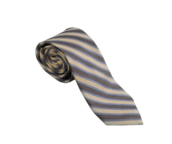 Blue Striped Business Tie | Striped Business Ties Australia | Striped Suit Ties Australia