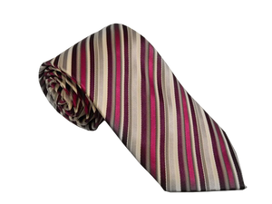 Purple Striped Ties Australia | Fuchsia Coloured Tie Australia