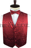 Red Vest | Mens Vest | Boys Vest | Childs Vest | Wedding Vest | Formal Vest | Mens Waistcoat | Childs Waistcoat | Boys Waistcoat