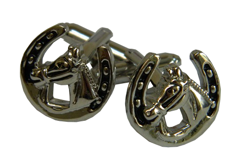 Horseshoe Cufflinks | Lucky Cufflinks | Good Luck Charms