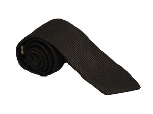 Plain Black Tie | Plain Necktie | Black Necktie