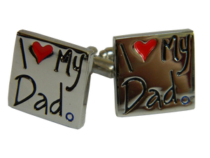 Fathers Day Cufflinks | Fathers Day Gift Ideas | Dad Cufflinks