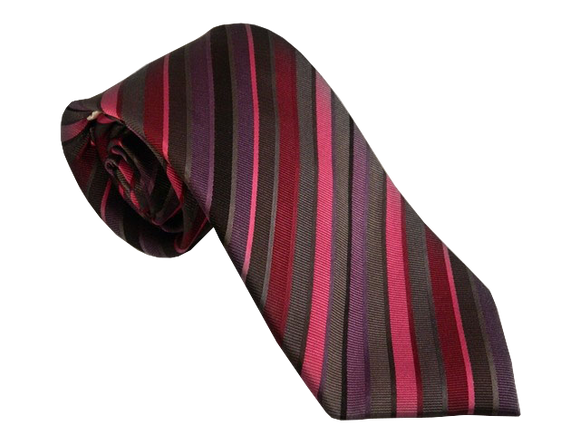 Grey Tie | Mens Ties | Silk Ties | Silk Neckties | Purple Tie