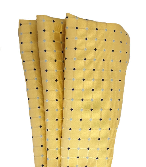 Pocket Square | Hankie | Yellow Hankie |