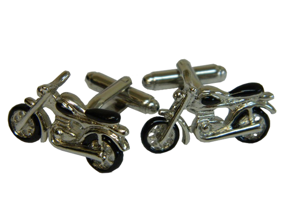 Motorbike Cufflinks | Bike Cufflinks | Transport Cufflinks