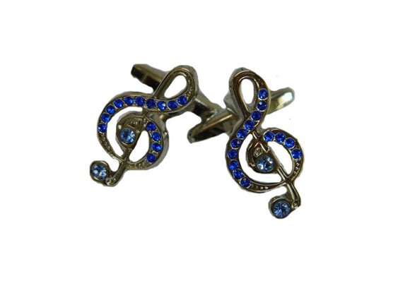 Musical Note Cufflinks | Musical Cufflinks | Music Cufflinks