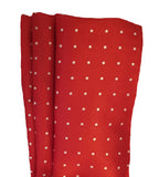 Red Pocket Square | Red Hankie | Suit Hankie