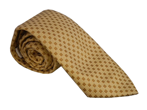 Yellow Necktie | Gold Tie | Silk Tie