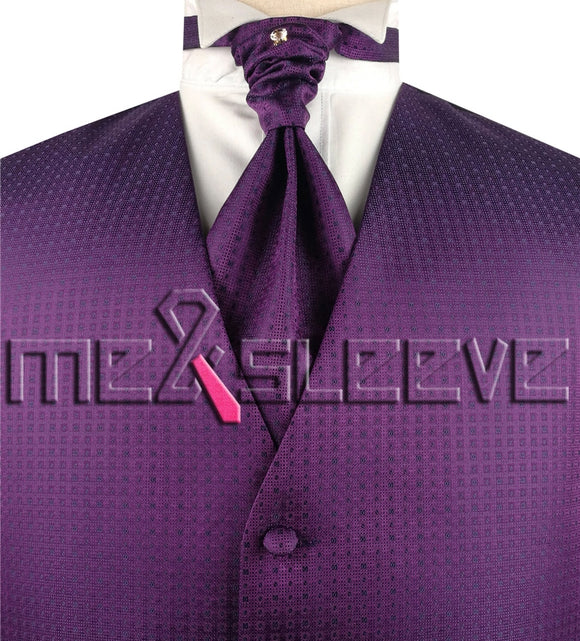 Purple Vest | Wedding Vest | Formal Vest | Purple Waistcoat | Formal Waistcoat | Wedding Waistcoat | Menswear | 24hr online store