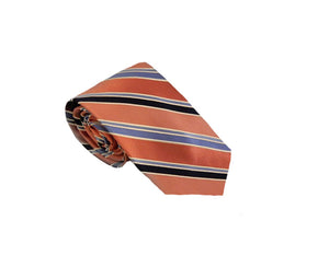Orange Tie | Mens Ties | Silk Ties | Silk Neckties