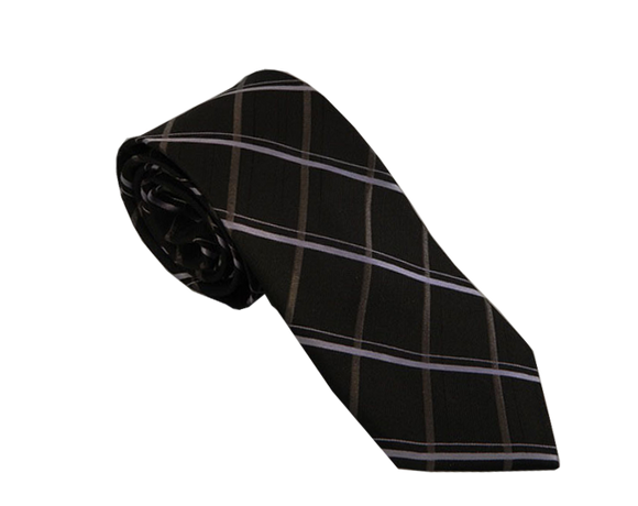 Black Tie | Black Striped Tie | Striped Ties Australia | Mens Ties Australia