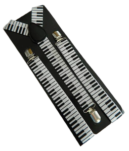 Piano Braces | Keyboard Braces | Piano Suspenders | Musical Braces