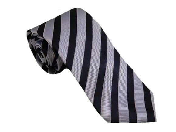 Blue Striped Business Tie Australia | Blue Striped Suit Tie Australia