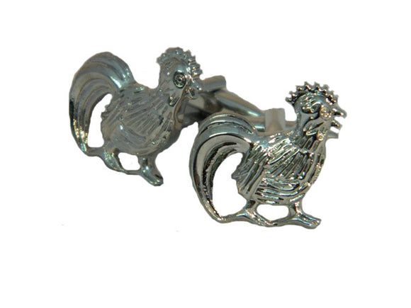 Rooster Cufflinks | Chicken Cufflinks | Animal Cufflinks