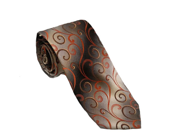 Brown Tie | Mens Ties | Silk Ties | Silk Neckties