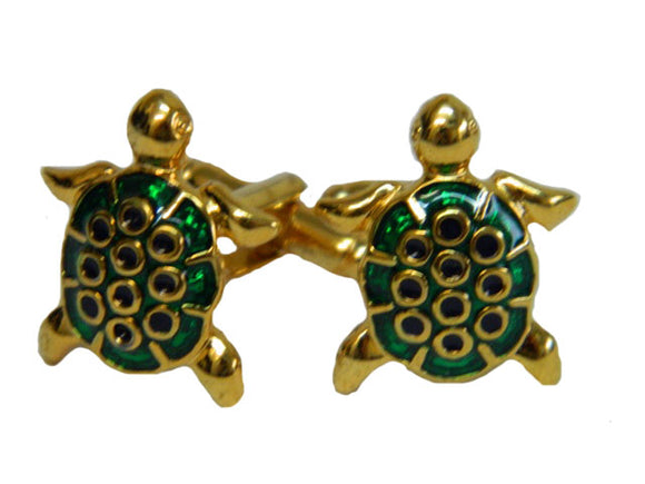 Turtle Cufflinks | Sea Creature Cufflinks | Sea Animal Cufflinks