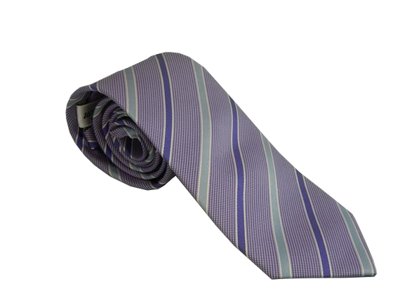 Blue Striped Tie | Mens Ties | Silk Ties | Silk Neckties