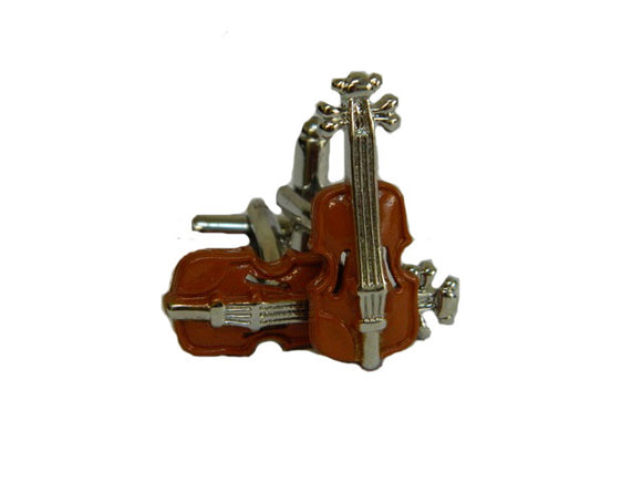 Violin Cufflinks | Musical Cufflinks | Music Related Cufflinks
