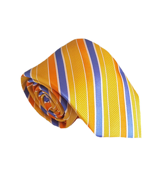 Yellow Striped Suit Tie Australia | Yellow Striped Business Tie Australia