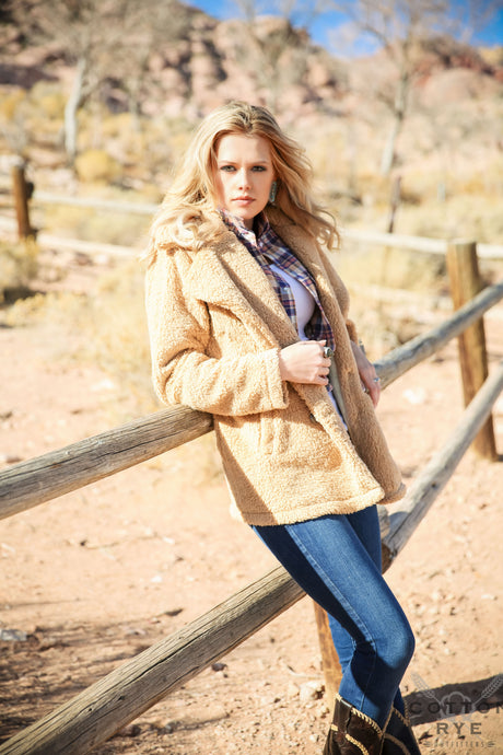 Womens Camel Jacket