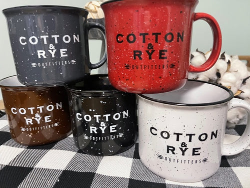 Cotton & Rye Outfitters Camp Mug