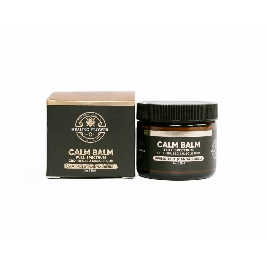Full Spectrum Hemp CBD Calm Balm Muscle Cream