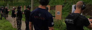 Law enforcement, police and SWAT tactical firearms training