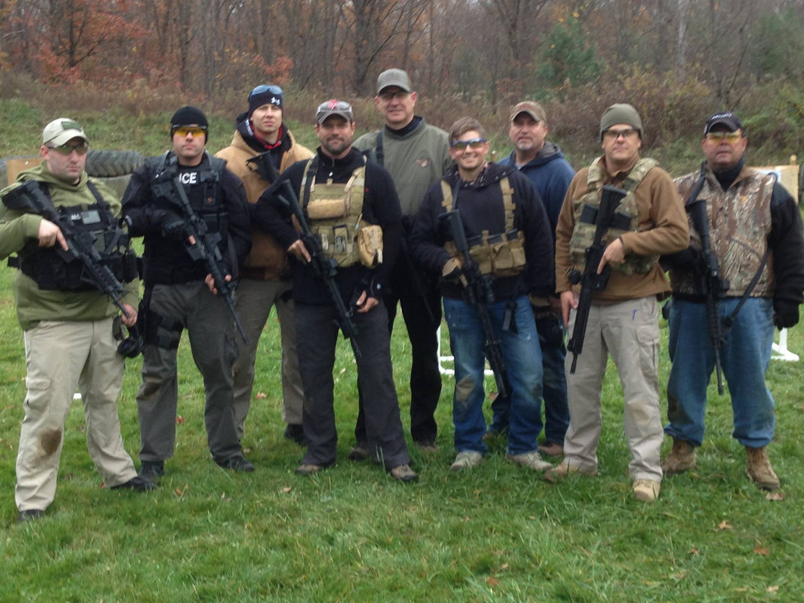 Beginner carbine ar15 rifle instruction, Ohio