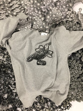 Load image into Gallery viewer, Stranded Bird Embroidered Sweatshirt.
