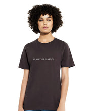 Load image into Gallery viewer, PLANET OR PLASTIC? Women's T-shirt