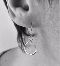 Load image into Gallery viewer, Sterling Silver Twist Earrings