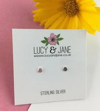 Load image into Gallery viewer, Sterling Silver Little Dots Stud Earrings