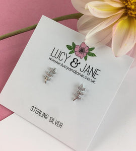 Sterling Silver Mini Leaf Climbers