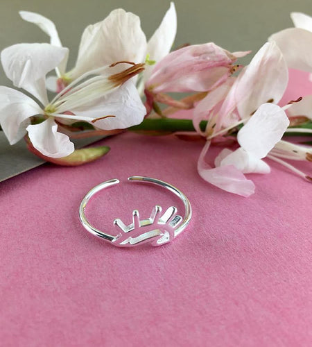 Sterling Silver Sunrise Ring