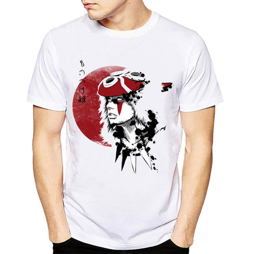 Mononoke Wolfs Blood& Creative T-shirt Fashion Novelty Style Cool Tops