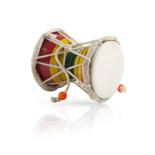 Wooden & Leather Classical Indian  Hand Drum Set