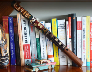 Native American Hand Carved Bamboo Flute