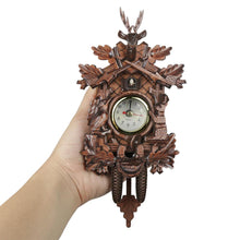 Load image into Gallery viewer, Animal Wall Clock Creative Vintage Hanging Home Decor Accessories Deer Cuckoo Mini Clock