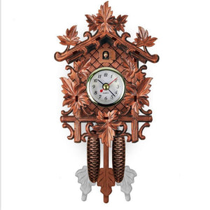 Animal Wall Clock Creative Vintage Hanging Home Decor Accessories Deer Cuckoo Mini Clock